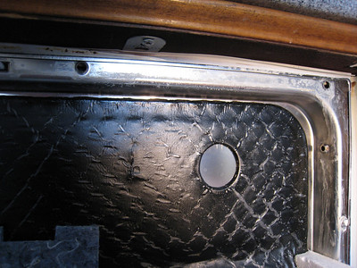 Detergent Residue Inside Door