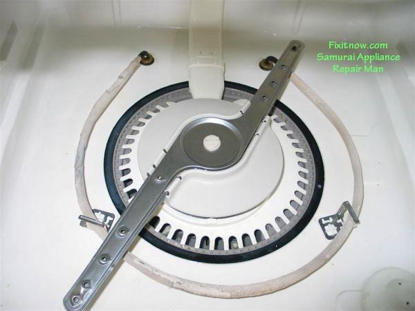Whirlpool Dishwasher Heating Element with Fuzz