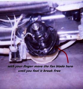 GE Dishwasher Motor