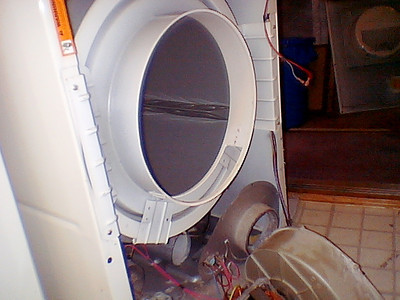 Speed Queen Dryer Teardown