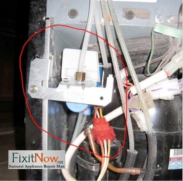GE TFX28PBD Water Inlet Valve 1