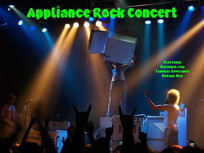 Appliance Rock Concert