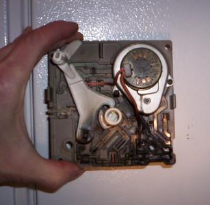 Burnt Icemaker Module
