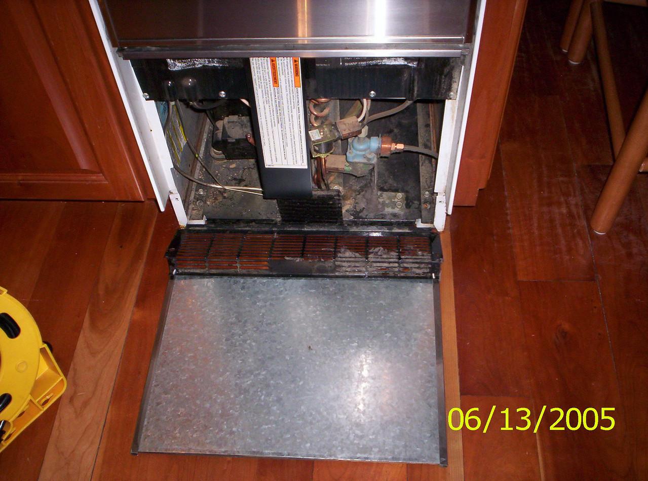 Ice Machine Compressor Compartment