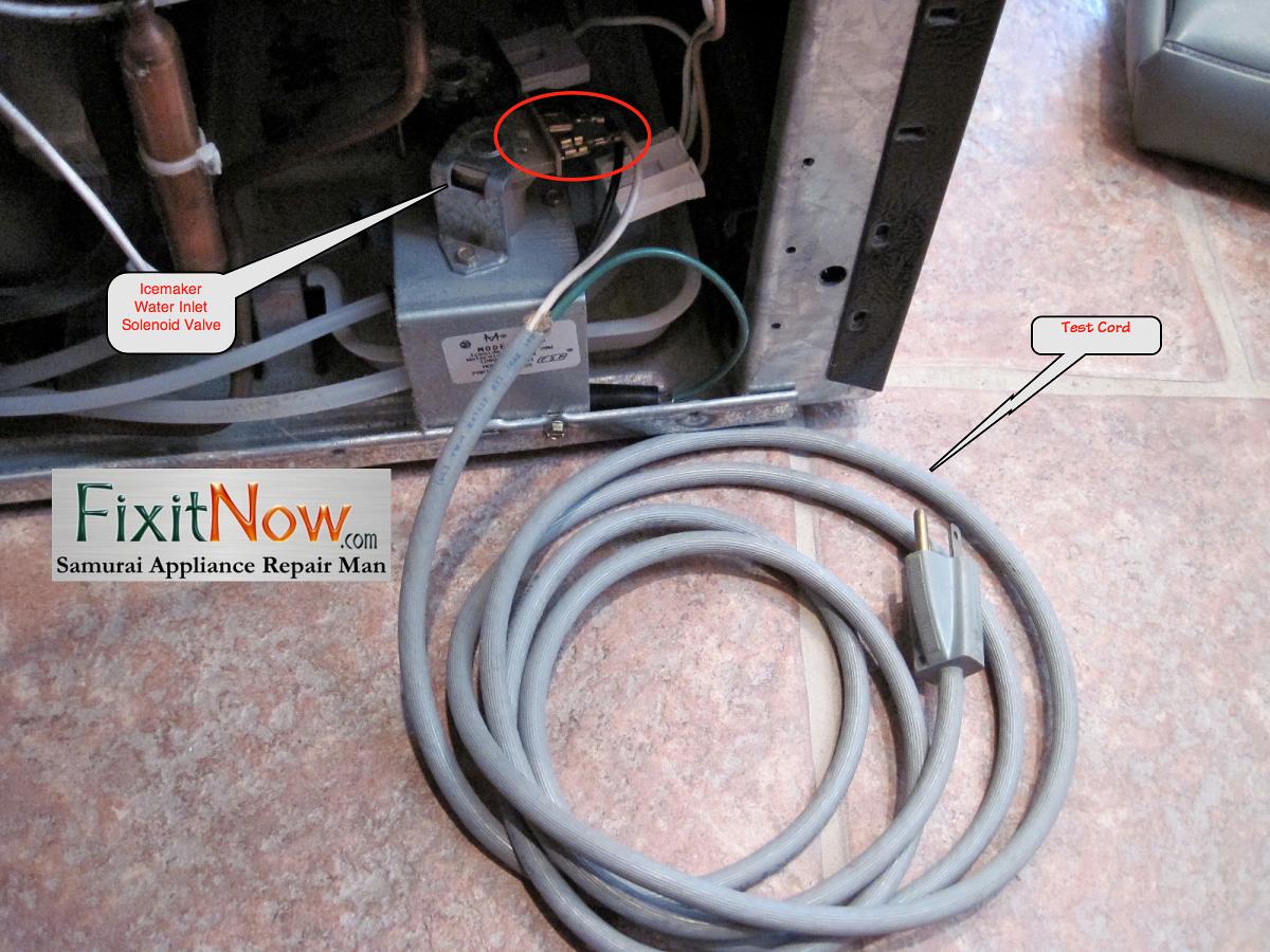 Testing an Icemaker Water Inlet Solenoid Valve