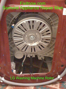 LG Washing Machine Rotor