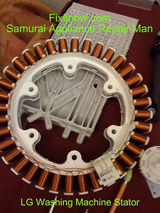LG Washing Machine Stator