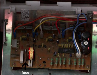 Blown Fuse on a Maytag Neptune Washer Motor Control Board