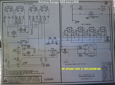 appliantology photo keywords wiring amana range model arr3601ww schematic and wiring diagram