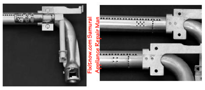 Whirlpool DSI Range Modified Burner