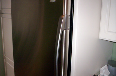 Stainless Steel Door, Side View