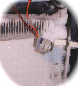 "Defrost Limiter (or ""defrost thermostat"")"
