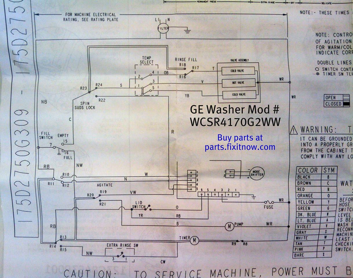 washers appliantology rh appliantology smugmug com ge washing machine motor wiring diagram Whirlpool Washing Machine Parts Diagram