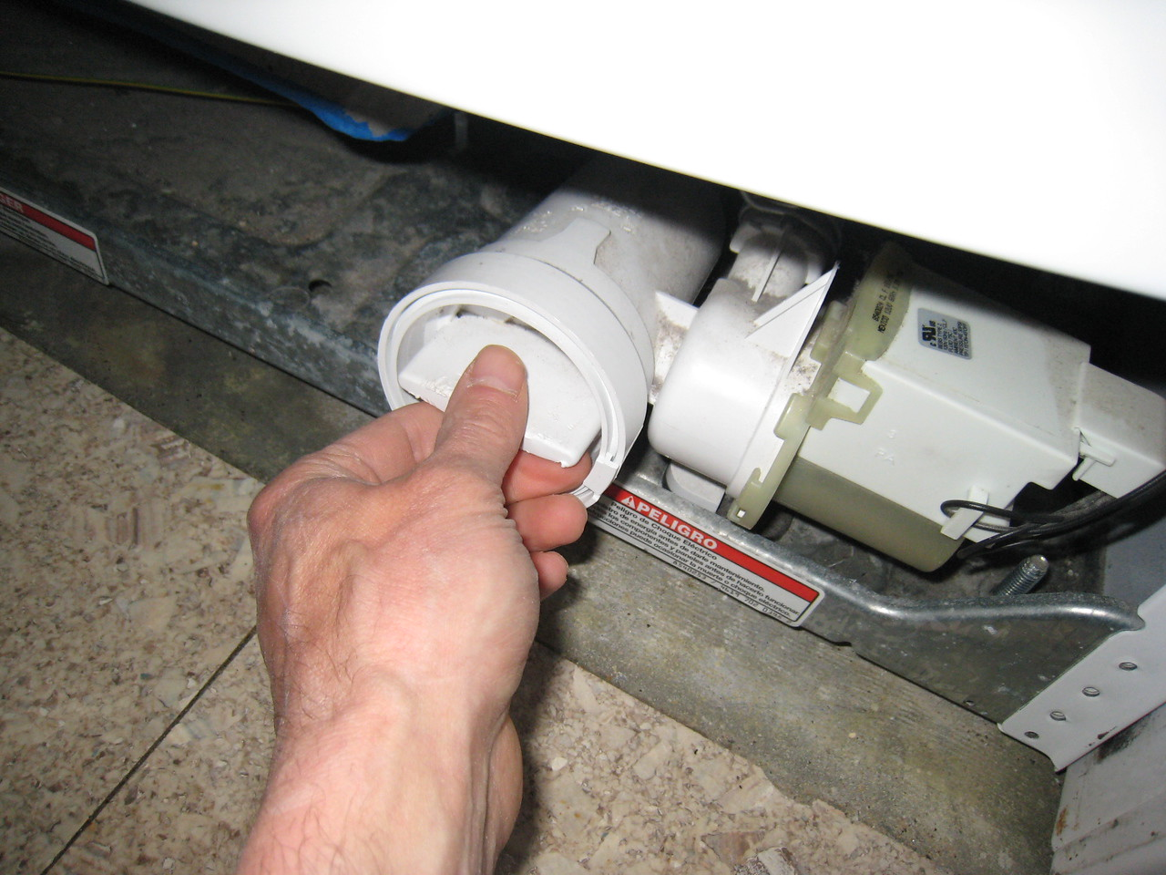 Pump Cleanout on a Whirlpool Duet Sport Washer