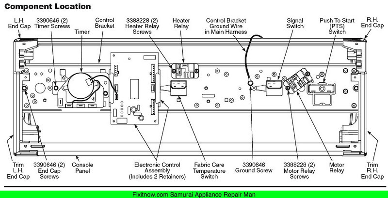 3357991619_7a72122b06_o L whirlpool dryer even heat control board appliantology Wiring 3 Prong Dryer at bayanpartner.co