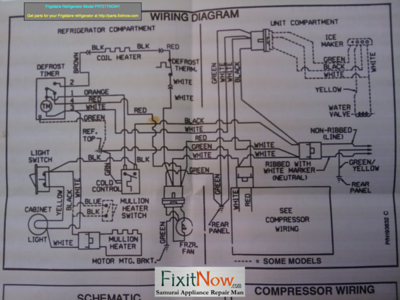 wiring diagrams and schematics appliantology frigidaire refrigerator model frt21tngw1 wiring diagram