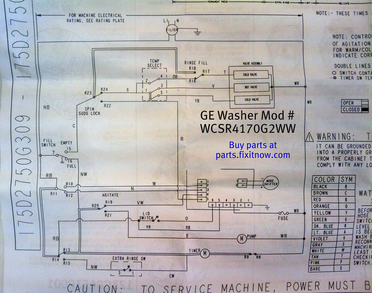 Wiring Diagrams And Schematics Appliantologyrhappliantologysmugmug: Ge Washer Wiring Schematic Diagram At Elf-jo.com