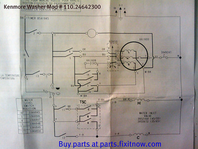Wiring diagrams and schematics appliantology kenmore washer mod 11024642300 schematic swarovskicordoba Gallery