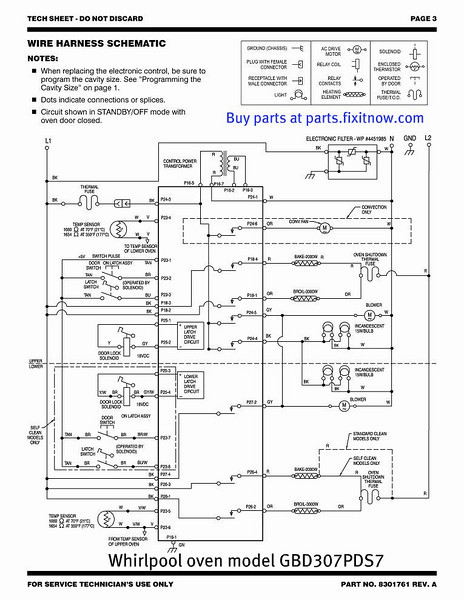 Whirlpool Oven Wiring Schematic - Wiring Diagram Local on
