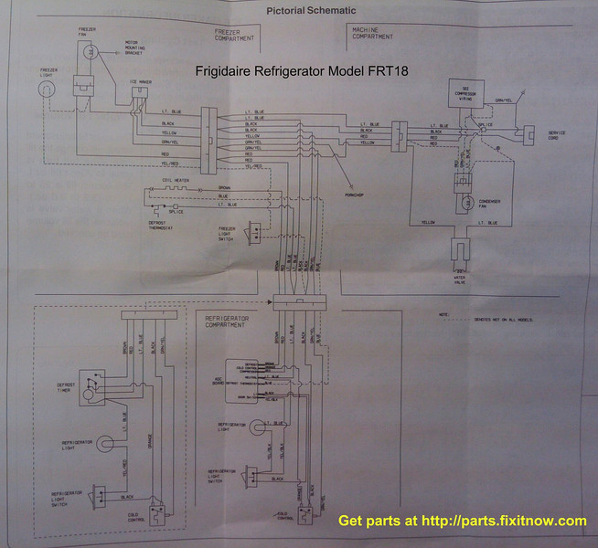Frigidaire Wiring Diagrams | Schematic Diagram on