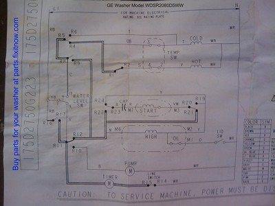 Ge Washer Wiring Diagrams - Wiring Liry • on