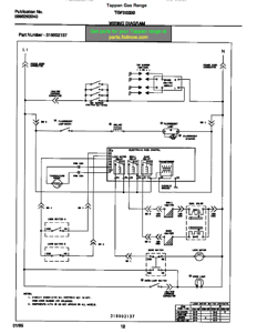 Wiring Diagrams And Schematics Appliantology. Tappan Gas Range Tgf362bbba Wiring Diagram. Wiring. Stove Ladder Wiring Diagram At Scoala.co