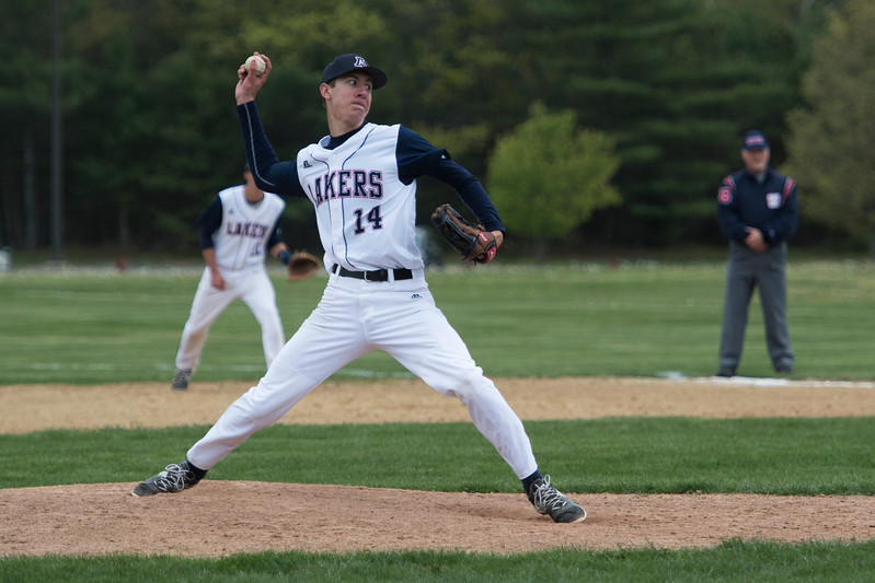 Matt Bogie had a solid effort on the mound for the Lakers.