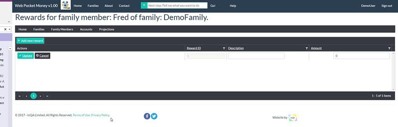 WebPocketMoney Accounts Next Step 3
