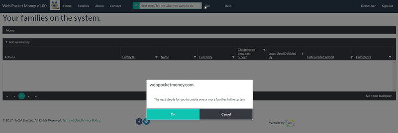 WebPocketMoney Home New User Clicked Go (What's my next step?)