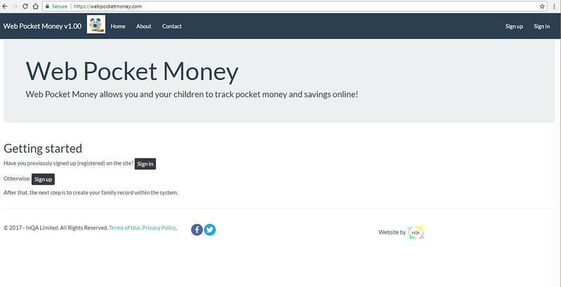WebPocketMoney Home Not Logged In