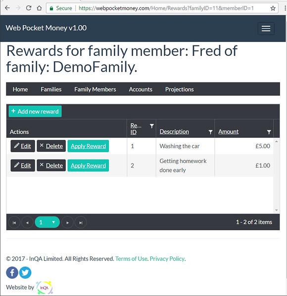 WebPocketMoney Rewards 1
