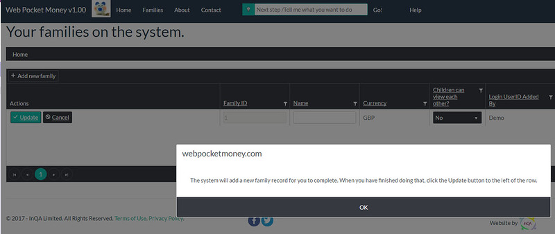 WebPocketMoney Home New User Clicked Go 2
