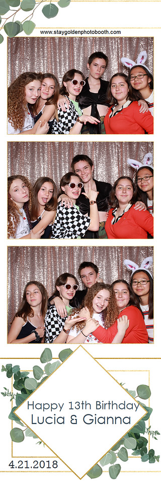 Lucia and Gianna's 13th Birthday