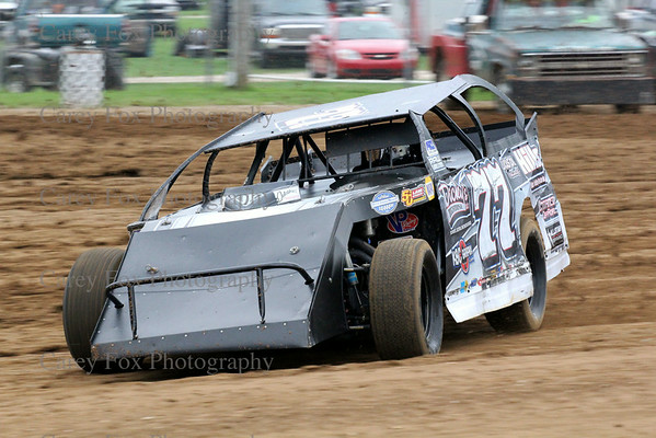 "August 30, 2014 - ""11th Patriot 100"" Modifieds"