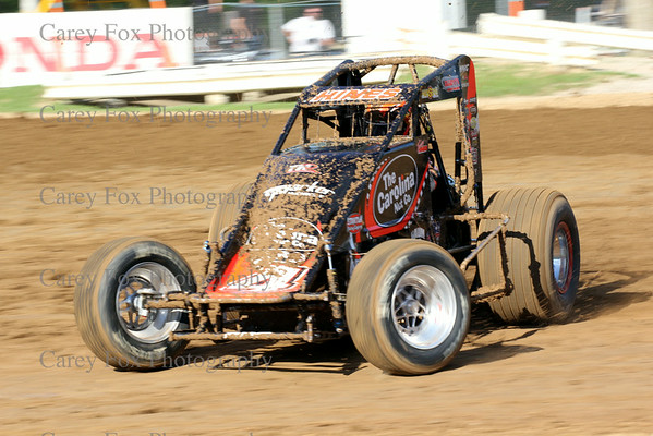 July 4, 2014 - USAC Sprints and Modifieds
