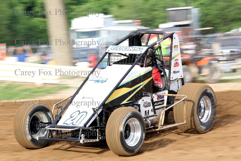 June 7, 2014 - Sprints and Modifieds