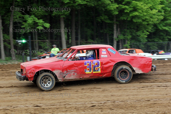 May 24, 2014 - Super Stock and Bombers