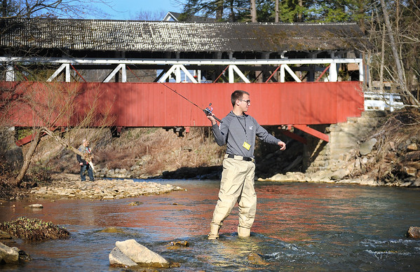 Opening Day of Trout Season | Bens Creek | Conemaugh Township