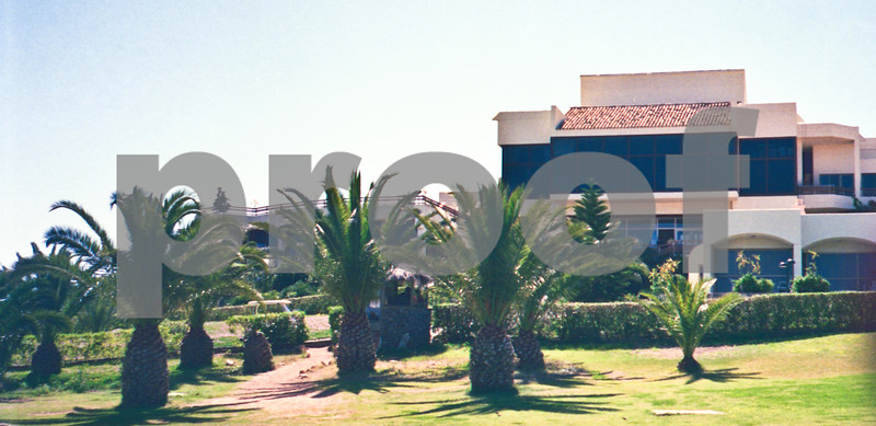 April 1989, The original La Manga Club Hotel with the American Bar situated above the Bar 37