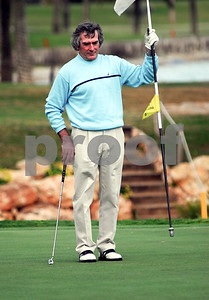 Pat Jennings OBE, Northern Ireland goalkeeper on La Manga Club's 18th on the South Course during the Marina Dalglish Appeal at La Manga Club, 4th April 2006