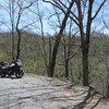 KY Rt 199.  Single lane gravel, switchbacks, pretty effing awesome.  You can see the road in the background between the trees as it curves it's way up the mountain.
