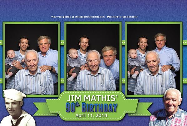 Jim's 90th Birthday
