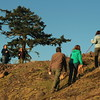 Campaign to Save Mount Grant supporters visit the summit. Photo credit: Val and Leslie Veirs.