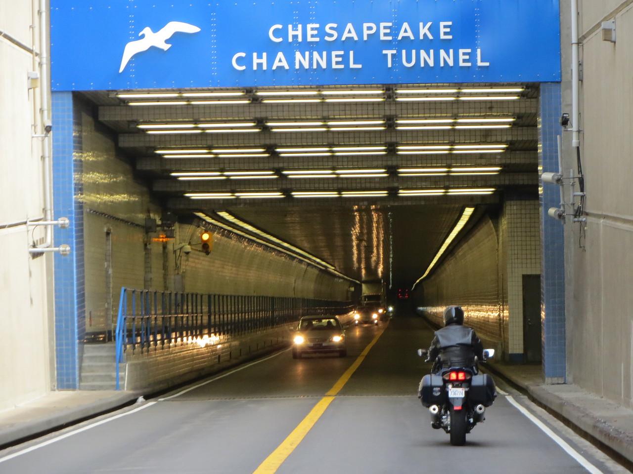 The Chesapeake Channel Tunnel, CBBT.