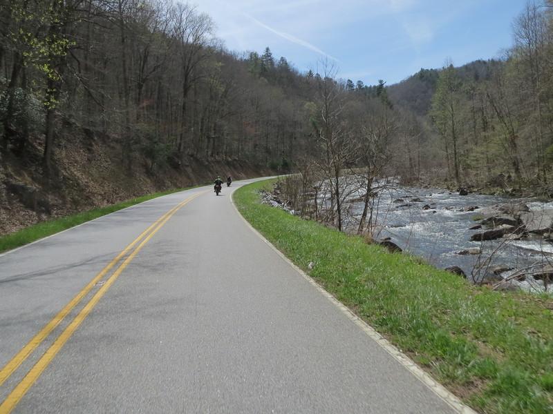 US 129 near the Joyce (Val?) Kilmer Memorial Forest.