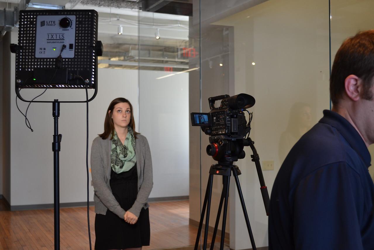 April 2015: Video Filming
