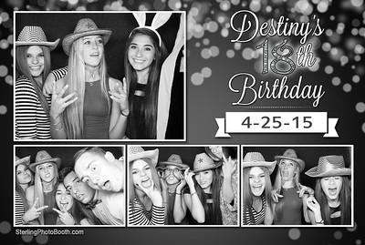 Destiny's 18th Birthday