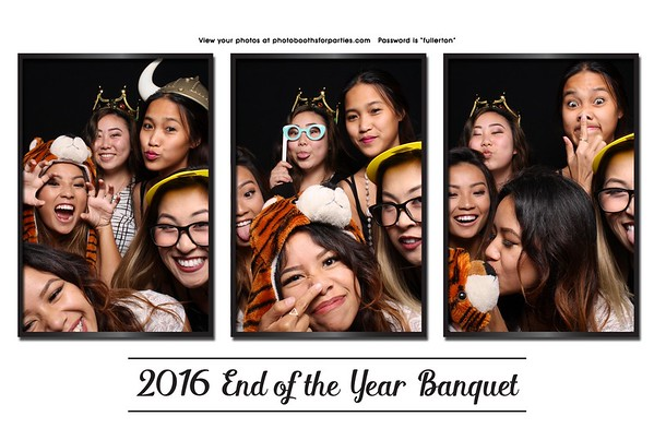 2016 End of The Year Banquet at CSUF