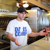 041216   Wesley Bunnell | Staff<br /> <br /> Local business owners weighed in on the proposed ordinance against aggressive panhandling.  Dan Czako owner of Miss Washington Diner.