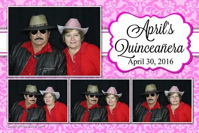April's Quinceanera